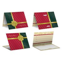 Gold Bow - PrePrinted Card Carriers