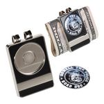 Custom Money Clip w/ Offset Print Ball Markers (Nickel)