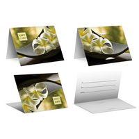 Flower - PrePrinted Card Carriers