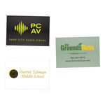 Rectangle Custom Stickers (2
