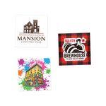 Custom Water resistant Square Custom Stickers (2