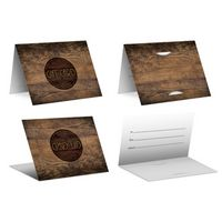 Wood - PrePrinted Card Carriers