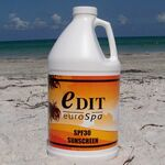 Custom SPF30 Sunscreen (1/2 Gallon) w/Pump USA Made