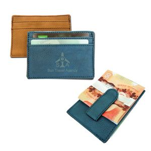 Magnetic Money Clip Card Holder