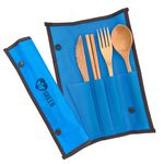 Custom Bamboo Utensil Set w/ Chopsticks