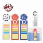 Sticky Notes w/Bookmark & Ruler (Air Ship)