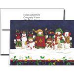 Custom Holiday Greeting Cards w/Imprinted Envelopes