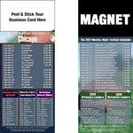 Chicago Pro Football Schedule Peel & Stick Magnet (3 1/2