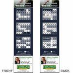 Custom New York (American) Pro Baseball Schedule Bookmark (2