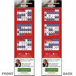 Boston Pro Baseball Schedule Bookmark (2