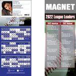 Colorado Pro Baseball Schedule Magnet (3 1/2