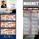 Houston Pro Baseball Schedule Magnet (3 1/2