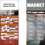 Peel and Stick St. Louis Pro Baseball Schedule Magnet (3 1/2