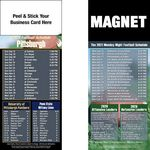Pittsburgh Pro Football Schedule Peel & Stick Magnet (3 1/2