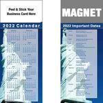 Custom Peel & Stick Full Color Calendar Magnet (3 1/2