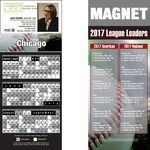 Chicago (American) Pro Baseball Schedule Magnet (3 1/2