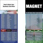 Indianapolis Pro Football Schedule Peel & Stick Magnet (3 1/2