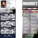 Milwaukee Pro Baseball Schedule Magnet (3 1/2