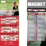 Arizona Pro Baseball Schedule Magnet (3 1/2