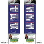 Chicago (National) Pro Baseball Schedule Bookmark (2