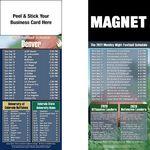Denver Pro Football Schedule Peel & Stick Magnet (3 1/2