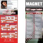 Philadelphia Pro Baseball Schedule Magnet (3 1/2
