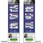 Custom New York (National) Pro Baseball Schedule Bookmark (2