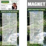 Custom Full Color Calendar Magnet (3 1/2