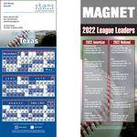 Custom Texas Pro Baseball Schedule Magnet (3 1/2