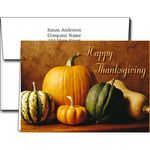 Custom Thanksgiving Greeting Cards w/Imprinted Envelopes