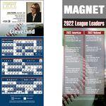 Cleveland Pro Baseball Schedule Magnet (3 1/2