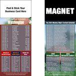 Washington Pro Football Schedule Peel & Stick Magnet (3 1/2