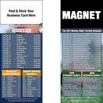 Tennessee Pro Football Schedule Peel & Stick Magnet (3 1/2