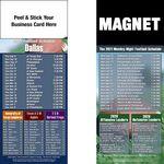 Dallas Pro Football Schedule Peel & Stick Magnet (3 1/2