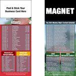 Atlanta Pro Football Schedule Peel & Stick Magnet (3 1/2
