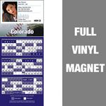 Colorado Pro Baseball Schedule Vinyl Magnet (3 1/2