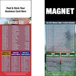 Kansas City Pro Football Schedule Peel & Stick Magnet (3 1/2