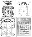 Custom Full Custom Game Cards - Black & White (8.50