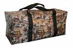 Custom Oilfield Camo Heavy Duty Vinyl Bag w/ Dividers