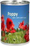 Custom Grow Can - Poppy Flower