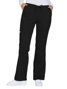 Custom Cherokee Workwear Premium Core Stretch Mid-Rise Drawstring Cargo Pant
