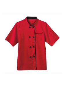 Custom White Swan Five Star Short Sleeve Executive Chef Coat