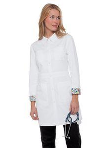 Custom Koi Rebecca Lab Coat