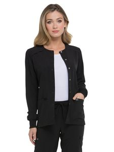 Custom Dickies EDS Essentials Snap Front Warm-up Jacket