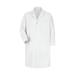 Custom Red Kap Snap Front Lab Coat