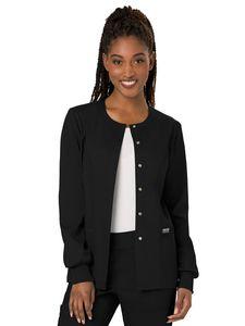 Custom Cherokee Workwear Revolution Snap Front Warm-Up Jacket