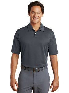 Custom Nike Dri-FIT Men's Pebble Texture Polo