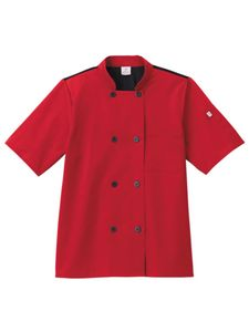 Custom Five Star Chef Apparel Unisex Moisture Wicking Mesh Back Chef Coat