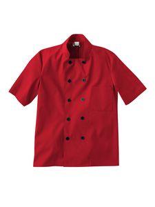 Custom White Swan Five Star Chef Apparel Short Sleeve Chef Jacket
