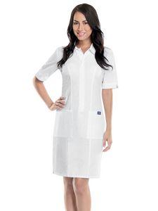 Custom Cherokee Workwear Zip Front Dress
